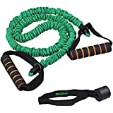 Exercise Band, Stretch Resistance Band With Door Anchor, SGM Elastic Bands Equipment Tube Cords With Foam Handle For Workout, Strength Training, Yoga, Pilates In Gym/Travelling