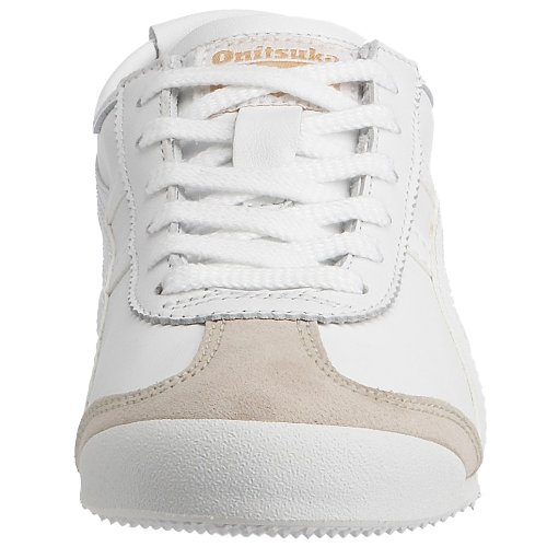 Onitsuka Tiger Mexico 66, Baskets mode homme Blanc et gris