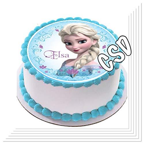 Décoration pour gâteau «Reine des Neiges 13 »