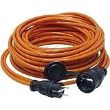 Verlängerung H07BQ-F 3G1,5 5m orange 62105