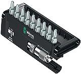 Bitsortiment 10 tlg. 9 Bits PH 2 Halter mit Tiefenanschlag in Kunststoffbox