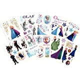 Disney Frozen Temporary Tattoos (Set of 10 Sheets)(Includes Princess Anna, Queen Elsa, Olaf, Kristoff and Sven) by Disney