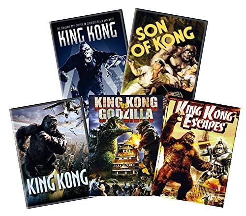 Ultimate King Kong 5-Movie DVD Collection: King Kong (1933) / Son of Kong / King Kong (2005) / King Kong vs. Godzilla / King Kong Escapes