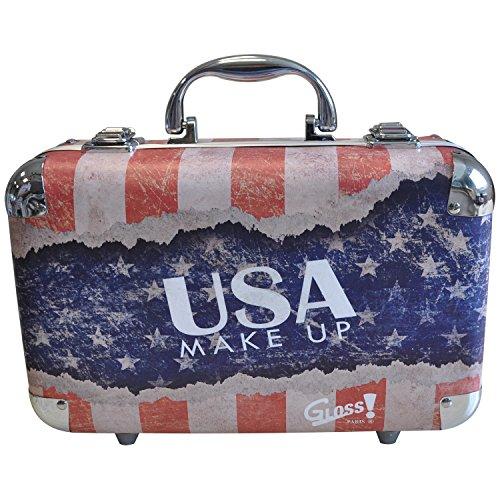 Gloss! Make-up Schminkkoffer - USA Make-Up - 62 teilig, 1er Pack (1 x 1 g)