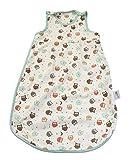 Schlummersack Simply Ganzjahres Babyschlafsack 1.0 Tog - Eulen - 0-6 Monate/70 cm