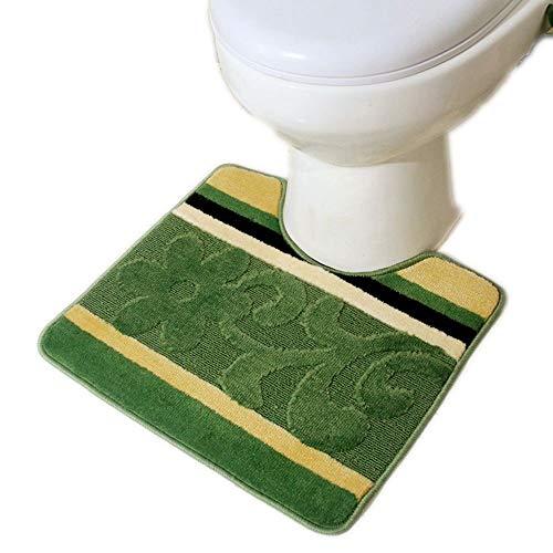 Cartoon niedlichen WC Bodenmatte Skid U-förmigen Fußmatte Bad WC WC Bodenmatte saugfähigen Kissen Haushalt [WC Bodenmatte (allgemeine Größe) -