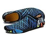 Pelle Scarpe piedi nudi acquatico Aqua calzini per Beach Swim Spiaggia Ballo Yoga Materiale Traspirante Elastico Antiscivolo Super Leggere Unisex Scarpe Donna Uomini