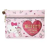 Marushin Sanrio Flache Tasche mit Herz-Form (Hello Kitty) 590550