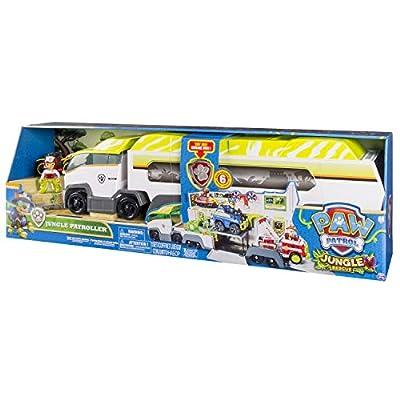 Spin Master Paw Patrol Jungle Patroller De plástico vehículo de Juguete - Vehículos de Juguete (De plástico, Gris, Blanco, Amarillo, 3 año(s), Niño, Interior, Batería) por Spin Master