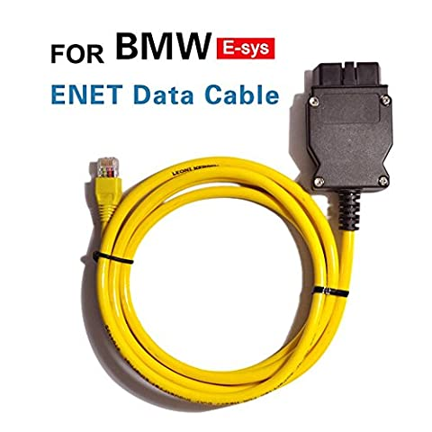 2m Ethernet to OBD Interface Cable E SYS ICOM Coding F-series for BMW ENET