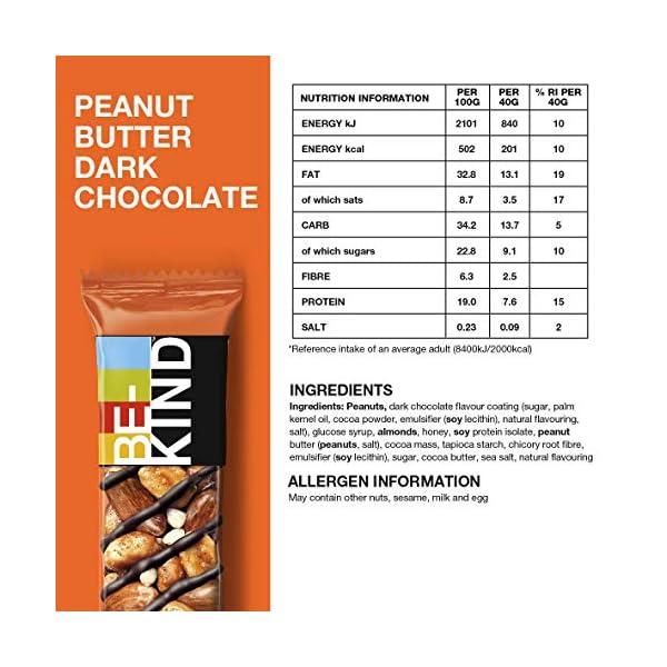 BE-KIND Snack al gusto - Barretta Senza Glutine - 12 barrette x 40g 3 spesavip
