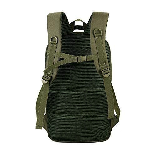 Cedaract militare tattico zaino piccolo zaino da trekking Outdoor escursionismo borsa zaino molle uomini/donne Dags per caccia viaggio 35L, BK OD