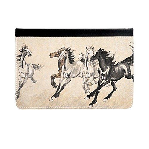 Babu Building Ganzkörperabdeckung Haltbarkeit Für Jungs Drucken Mit Asian Horse Artists Auf Ipad 2