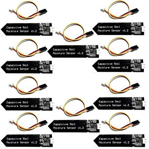 Homengineer 10 X analogico sensore di umidità Non arrugginito capacitiva igrometro Terra per Arduino Raspberry Pi ECC. Senza corrosione