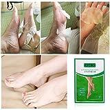 Foot Mask 3 Paar,Neue 2019 Peeling Fußpeeling Maske für weiche 1 Paar Baby Fußpeeling - Peeling,Fußcremes,Weiß,10 Paar