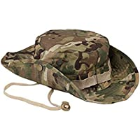 Westeng Camouflage Hat Boonie Fisherman Rounded Sun Protection Hat Outdoor Climbing Jungle Men Women Tactics Cap