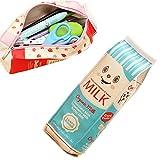 Artone Grande Capacità Box Latte Astuccio Sacchetto Della Penna Blu