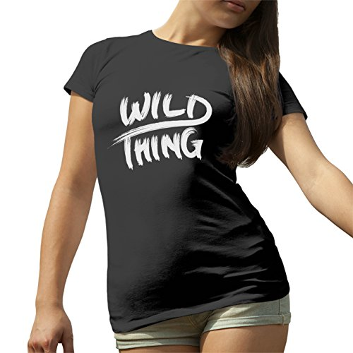 Wild Thing T-Shirt maglietta per le donne Nero
