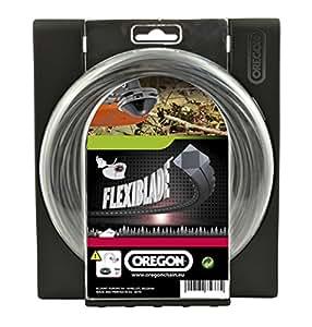 Oregon 111082E Flexiblade Fil de coupe pour débroussailleuses 3,0 mm x 37 m