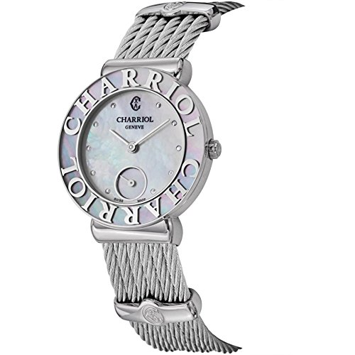 charriol-st-tropez-st30sc560019-30mm-silver-steel-bracelet-case-synthetic-sapphire-womens-watch