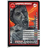 Doctor Who Monster Invasion Card #056 Weeping Angels