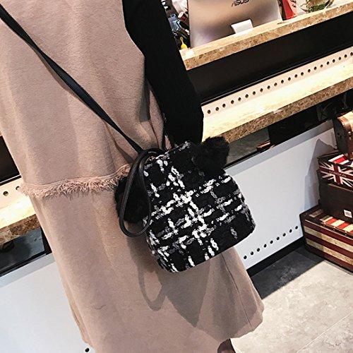 Millya , Damen Rucksackhandtasche, rot (Rot) - bb-01686-01C schwarz