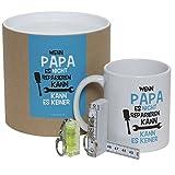 Set Wenn Papa es nicht reparieren kann - kann es keiner (Tasse, Mini-Zollstock & Wasserwaage)...