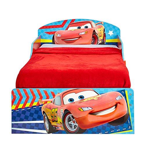 Letto Di Cars.Worlds Apart 516cac Hellohome Il Lettino Di Cars Con Pratici Cassetti Sotto Il Letto Mdf Rosso