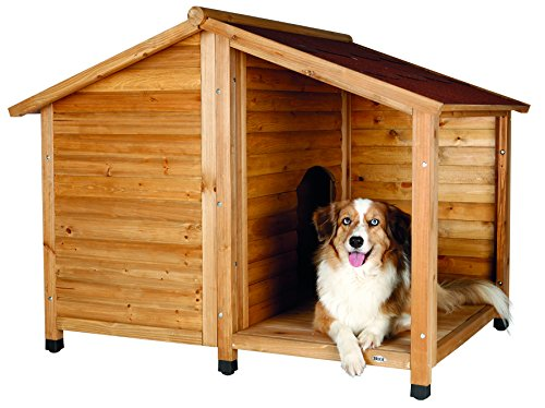 Trixie natura Hundehütte mit Sattel roof-parent