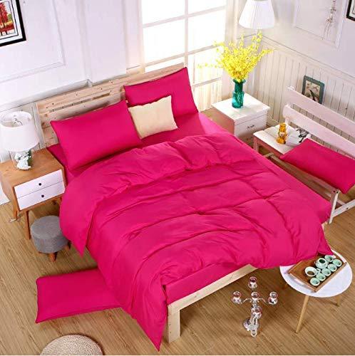SHJIA Sommer Bettwäsche Set Bettbezug Bett Set Bettwäsche Bettwäscheset Nordic Heimtextilien F 180x220cm
