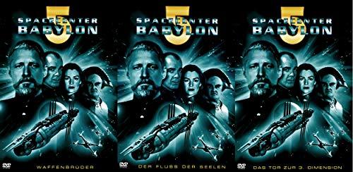 Spacecenter Babylon 5 - Waffenbrüder + Der Fluss der Seelen + Das Tor zur 3. Dimension ( Bundle Set )