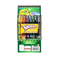 Crayola 8 Twistables Mini Crayons Draw