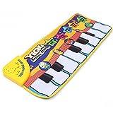 Kinder Musikteppich, Musikmatte, Keyboard Teppich, Amison Klaviermatte Tiermuster für Beste Kinder Baby Spielzeug Geschenk