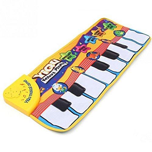 Amison Tapis clavier musical tactile pour bébé