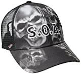 Sons Of Anarchy Skull Sublimation Snapback Gorra