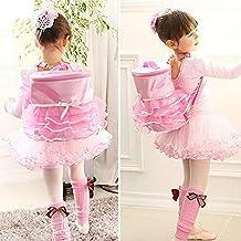 Barbie - Mochila para danza, diseño de tutú con forma de tul para niños y