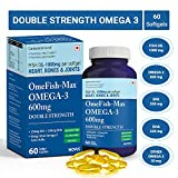 Carbamide Forte Omega 3 Fish Oil 1000Mg Double Strength Epa & Dha For