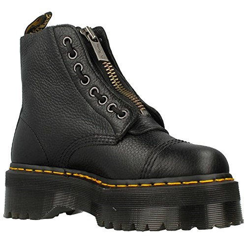 Dr.Martens Womens Sinclair Black Leather Boots 38 EU