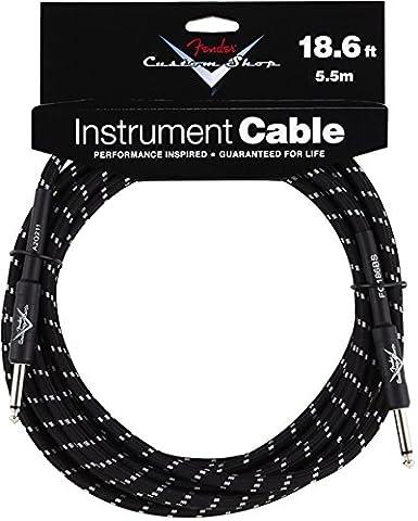 Fender Instrument Tweed Câble 5,5 m Noir