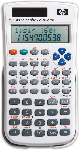 HP Calculadora científica HP 10s