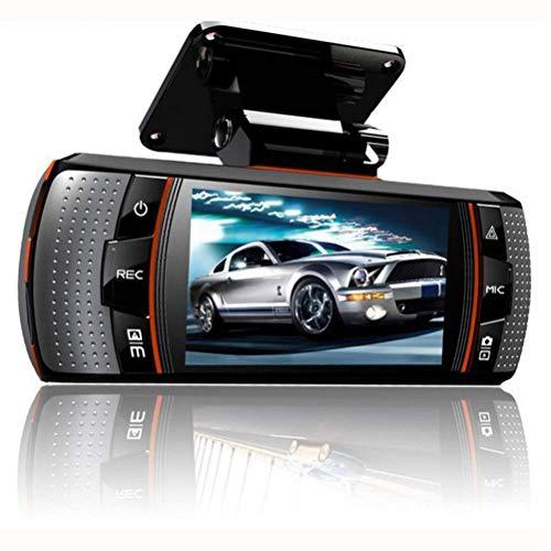CZWXCD 37V 2,7 Zoll Recorder Fahren Doppelte Linse Autokamera HD 1080P Doppelscheibe vorne und hinten Super Weitwinkel Nachtsicht 1080p Hd 37