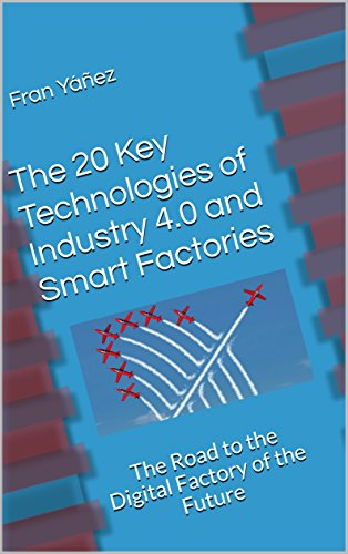 The 20 Key Technologies of Industry 4.0 and Smart Factories: The Road to the Digital Factory of the Future (English Edition) por Fran Yáñez