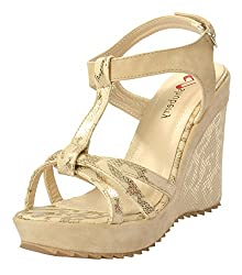 Shuberry Womens Latest Collection, Comfortable & Fashionable Beige Fashion Sandals - 39 EU