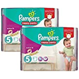Couches Pampers - Taille 5 active fit pants - 210 couches bébé