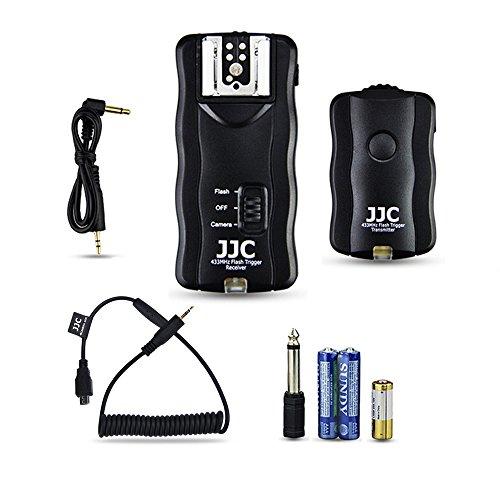 JJC Funkauslöser Blitzauslöser Auslöser für Fujifilm X-T2 X-Pro2 X-T1 X-T10 X-E2S X-E2 X-A3 X100T X-M1 X-A2 X-A1 XQ2 XQ1 X70 X30 FinePix...