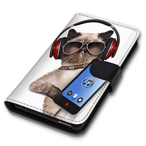 Wallet Book Style Flip Handy Tasche Case Schutz Hülle Schale Motiv Etui für Apple iPhone 6 Plus / 6S Plus - Variante UMV19 Design12 Design 2