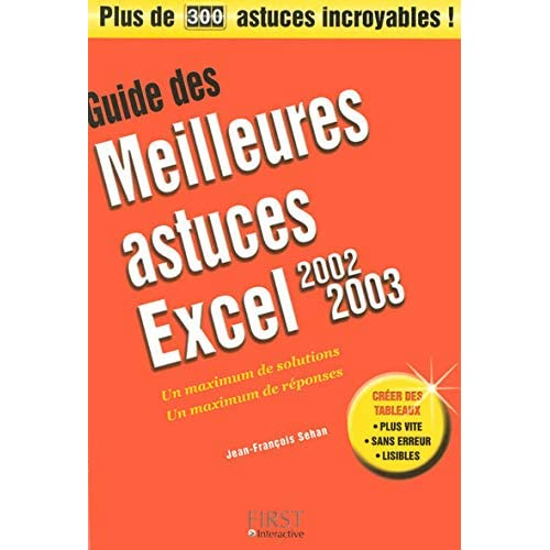 GUID MEIL AST EXCEL 2002-2003