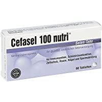 Cefasel 100 nutri Selen-Tabs, 60 St. Tabletten preisvergleich bei billige-tabletten.eu
