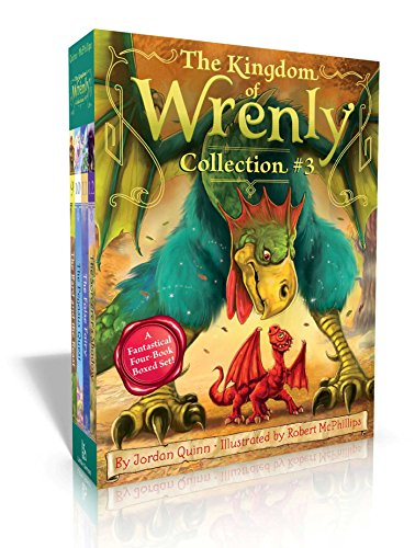 The Kingdom of Wrenly Collection #3: The Bard and the Beast; The Pegasus Quest; The False Fairy; The Sorcerer's Shadow por Jordan Quinn