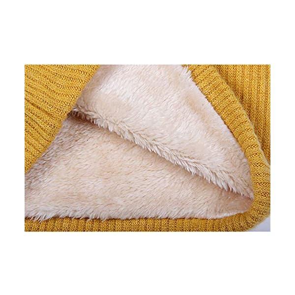LAAT 1PCS Cuello de Bufanda Bufanda Multiusos Invierno De Las Bufandas De Cuello Collar Bufanda Cuello de Cuello de… 5